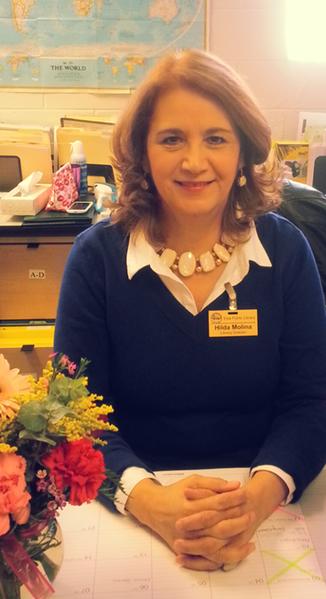 Library Director Hilda Molina
